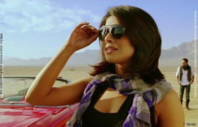 Priyanka Chopra Celebrity Style In Hairat Anjaana Anjaani 2010
