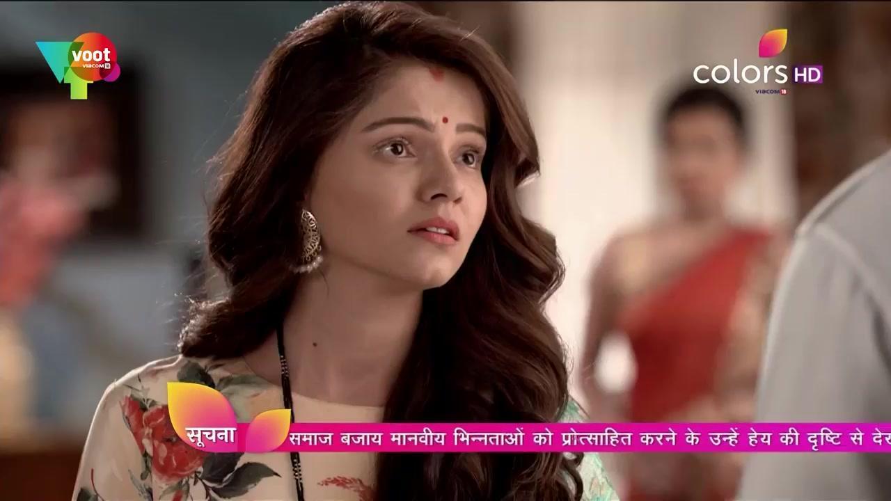 Rubina Dilaik Green Saree look, Episode 383 style, Shakti